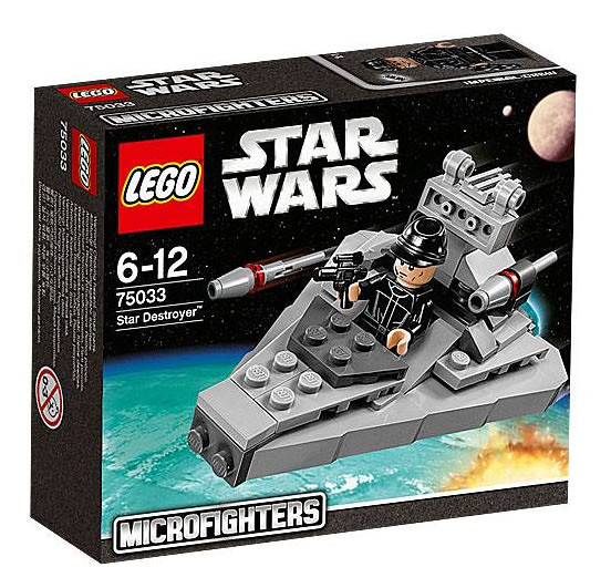 LEGO Star Wars MicroFighters 75033 - Star Destroyer
