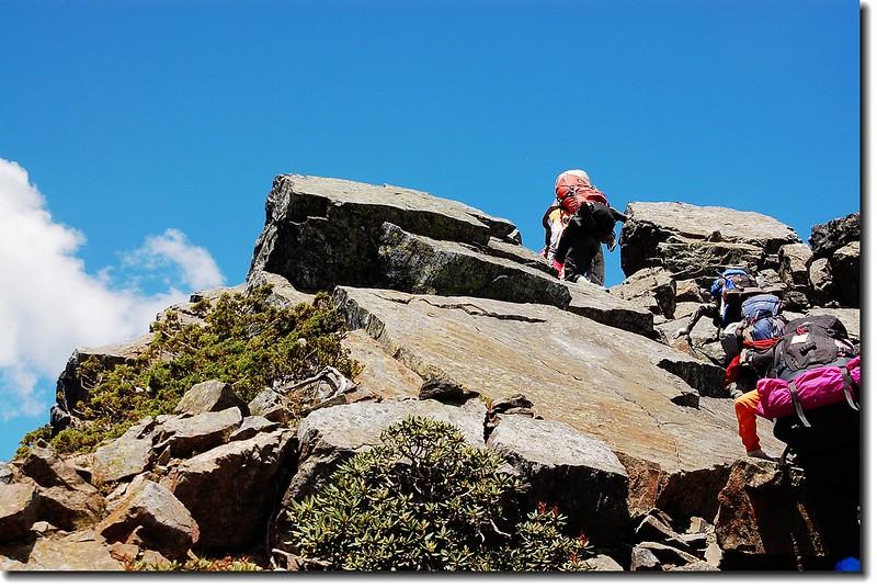 攀登素密達山 2