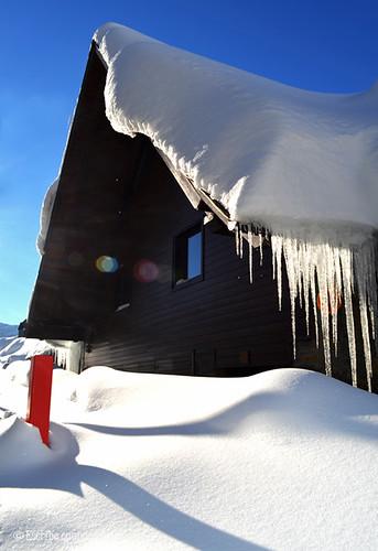 Día soleado a comienzo de la temporada de esquí en Baqueira Beret