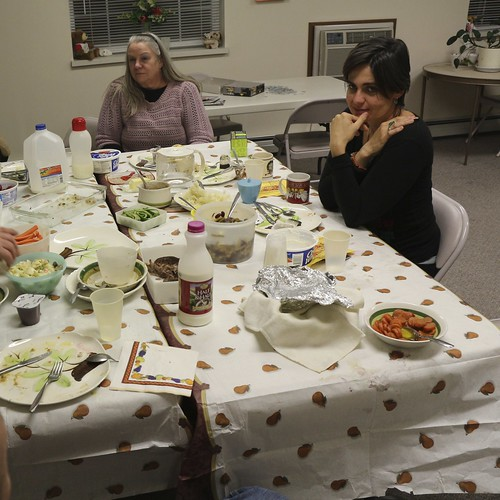 Breakfast at great-grandma's