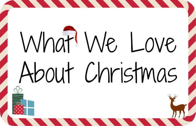 What we love about christmas