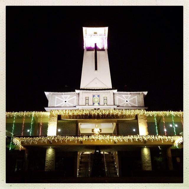 Church of Saint Joseph Christmas light up