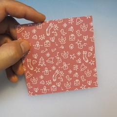 วิธีพับกระดาษรูปหมวกซานต้า 001