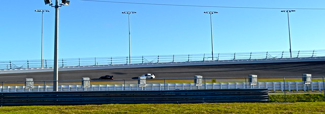 Daytona Racing - practice runs on Daytona speedway