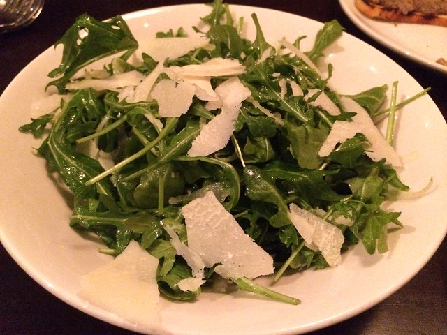 Baby arugula salad - Pesce