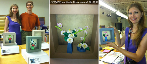 Oriland on Washi Wednesday at the JPP