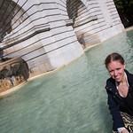 Emily and the fountain, Sacré-Cœur