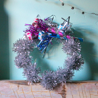 diy dillydilly: new year's wreath