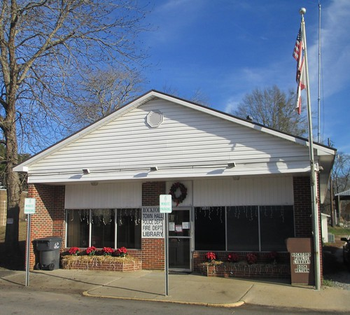 Rockford, Alabama City Hall and Library