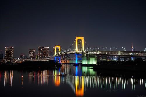 Rainbow bridge, Odaiba, Tokyo - Sony A7R