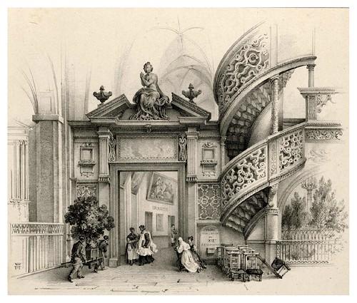 012-Souvenir du vieux Paris…1835- L.T. Turpin de Crissé- Institut National d'histoire de l'art- INHA