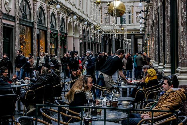 Galerías Reales Saint-Hubert de Bruselas