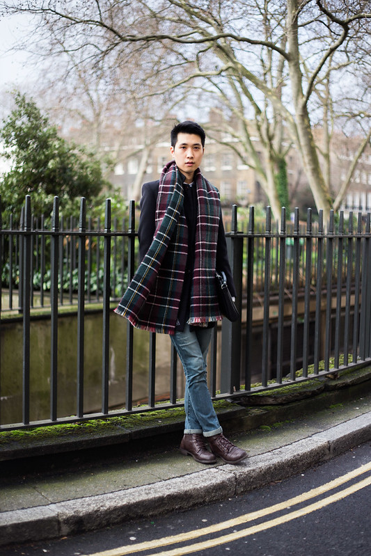 Street Style - Enoch, London Collections: Men