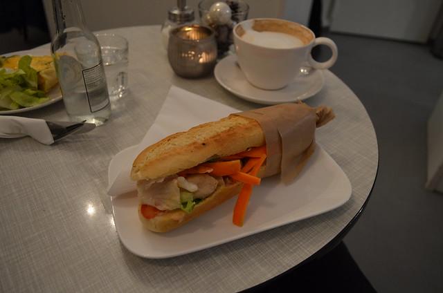 Dale's Cake Banh Mi sandwich
