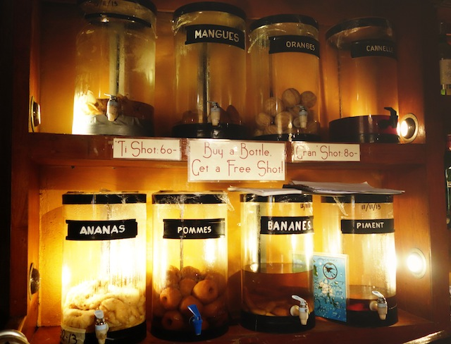El Nido La Salangane infused rum