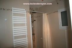 Salle d'eau : coin douche