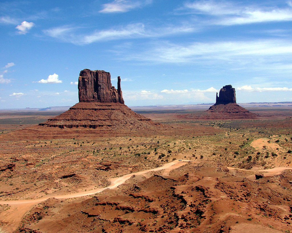 Mittens, Monument Valley, UT-AZ 9-08
