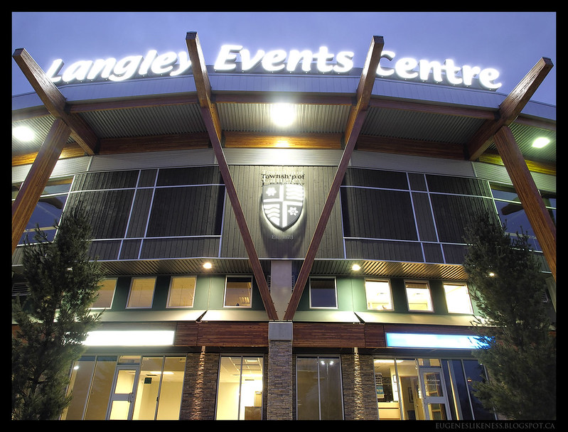Langley Events Centre Main Entrance