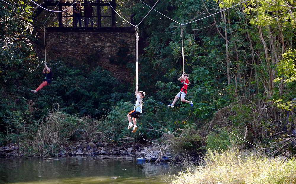 tarzan swing - pattaya thailand