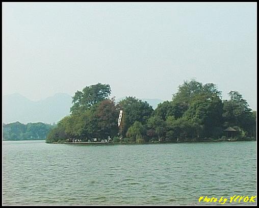 杭州 西湖 (其他景點) - 400 (從西湖 湖心亭上望向阮公墩)
