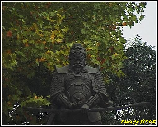 杭州 西湖湖畔的錢王祠 - 001 (錢王像)