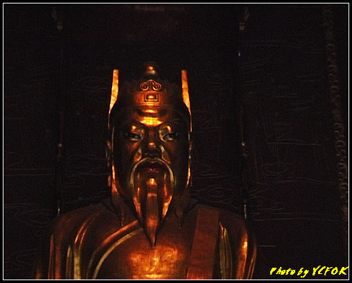 杭州 吳山天風景區 - 020 (城隍閣 城隍 周新像)