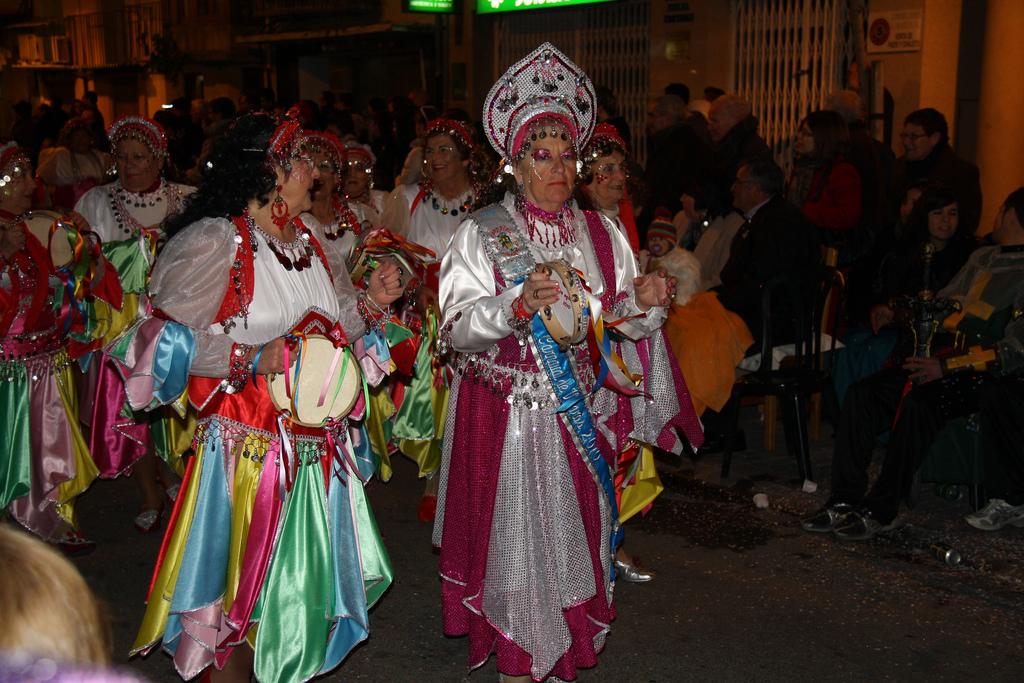 5. Desfile de carnaval en Vinaròs. Autor, José Gozalvo