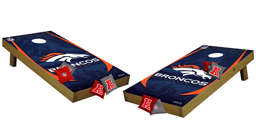 Denver Broncos Premium Cornhole Boards