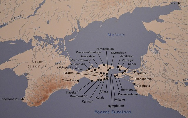 Ancient Greek colonies along the north coast of the Black Sea, Tauris (Roman Taurica) (Crimea)