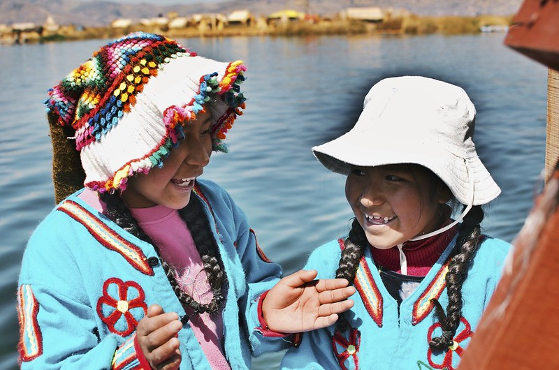 Uros Islands sky envy travel photography