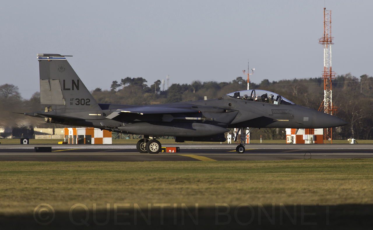 USAF McDonnell Douglas F-15E LN 91-302