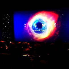 COSMOS preview. Neil deGrasse Tyson: 'Why are we saying entertainment vs. science? I'm entertained by the universe every time I think about it.'