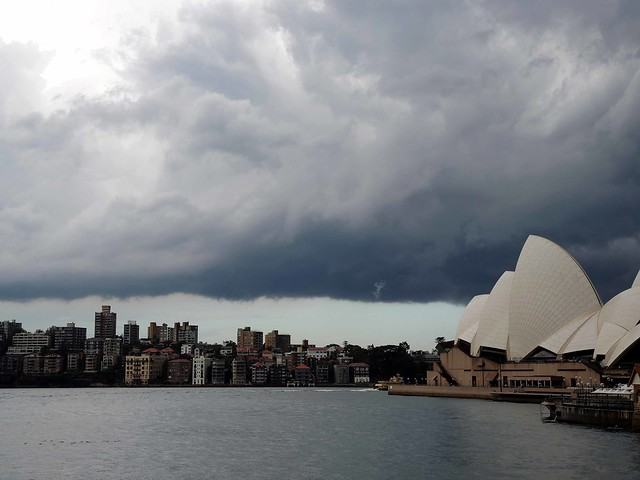 Southerly Buster hits Sydney