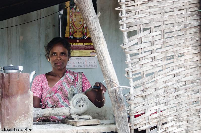 A Women ChaiWalee in Mahbubnagar Telangana