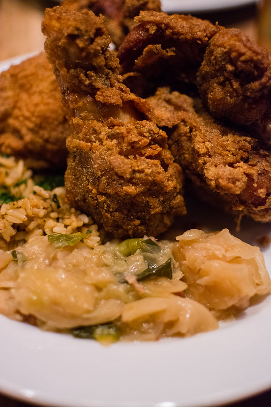 Fried Chicken Leg by Josh Galliano
