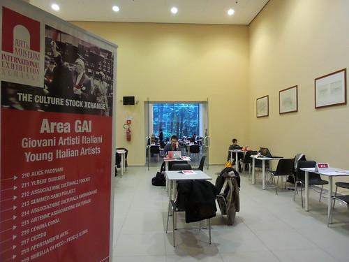 Preparativi area GAI presso #AMIEX2014 by Ylbert Durishti