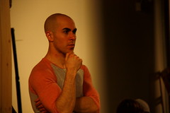 Wed, 2014-03-05 06:49 - Behind-the-scenes pictures of rehearsals for our adaptation of Dorian.