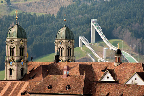 church landscape switzerland march nikon kirche venue einsiedeln skijumping the 2014 eschbach d700 cantonofschwyz