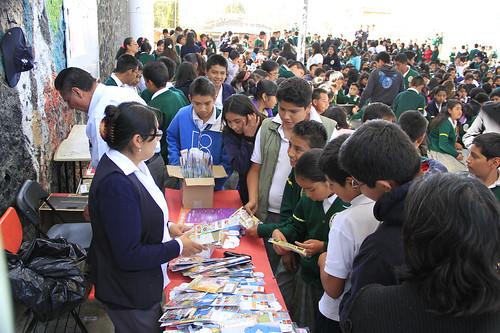 Taller en la secundaria 308 Xochicalco en el poblado de San Jeronimo Miacatlan Delegación Milpa Alta