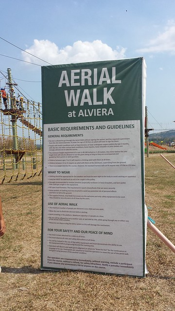 Aerial Walk at Sanbox Adventure Alviera
