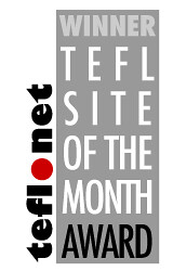 Your TEFL.net website of the month hero!