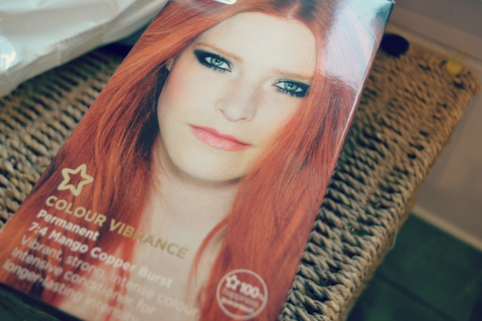 Superdrug mango burst hair dye