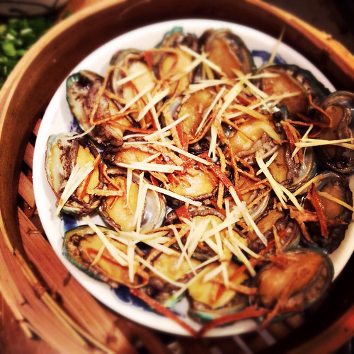 Abalone, ginger, Orange Peel, recipe, steamed, Tangerine Peel, 果皮, 蒸, 鮑魚, chenpi