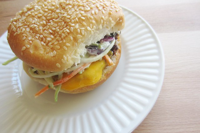 Jessica Rodarte: 52 sandwiches #33: buffalo turkey burger ...