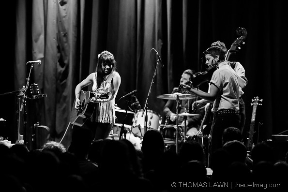 Hurray for the Riff Raff @ The Aladdin Theater, Portland 4/19/14