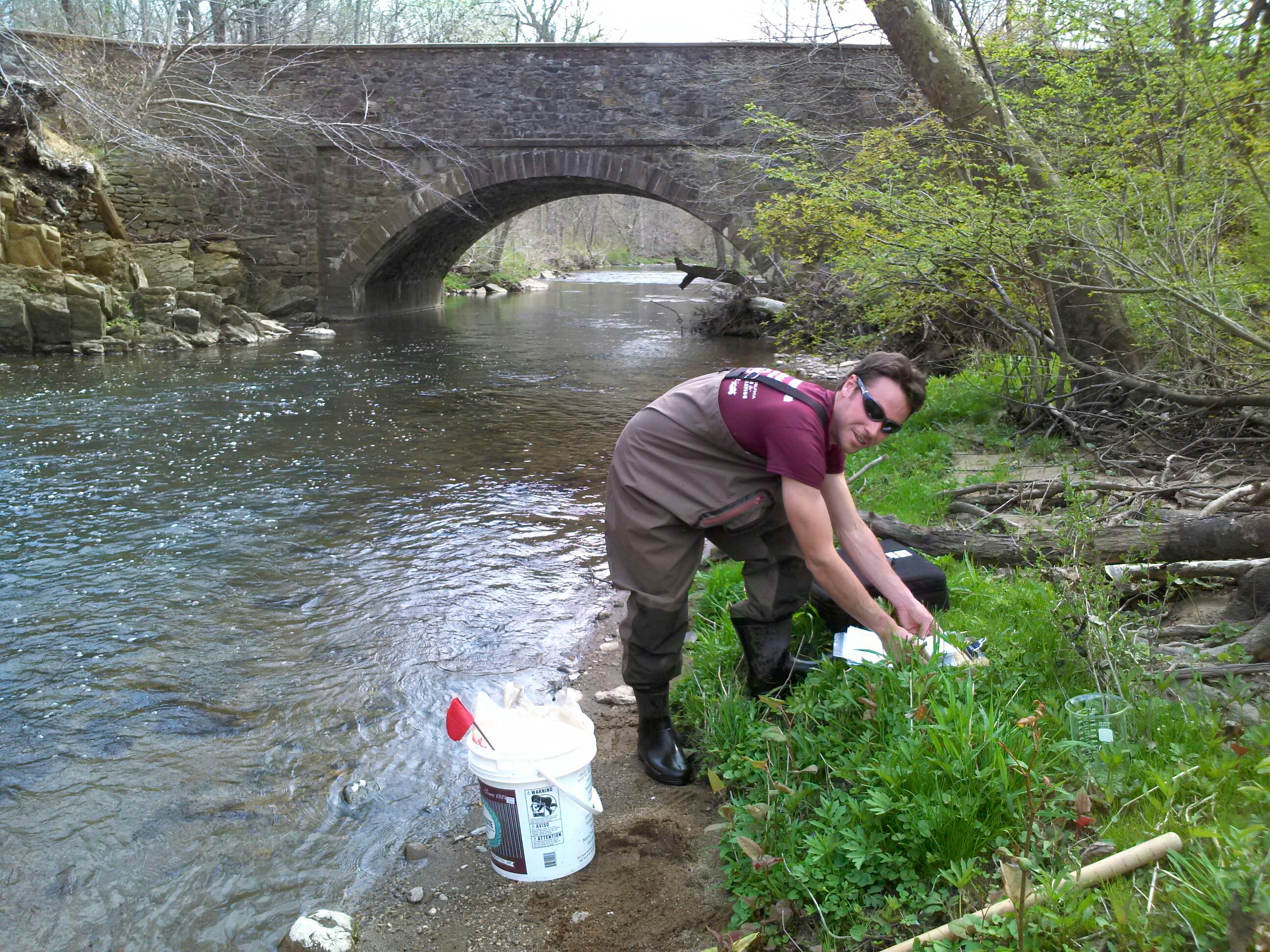 Water Monitoring in the Pennypack