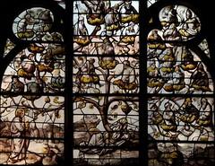 L'arbre de Jessé Baie 14 Eglise de Sainte Savine