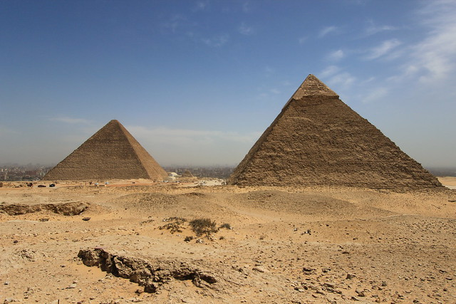Egypt: The Pyramids of Giza and the dangers of travelling myopically