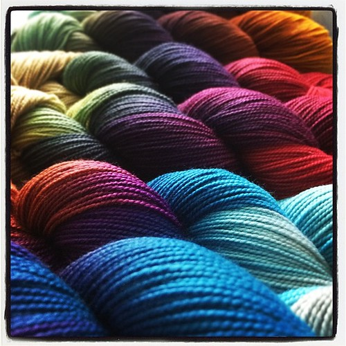 Look! Yarn. With MDSW just days away we will allow you to imagine a far wittier description...
