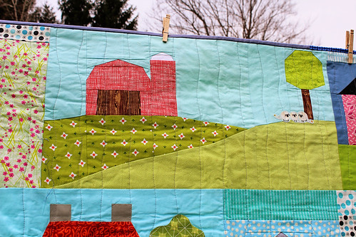 Happy Houses Quilt